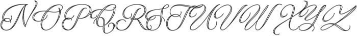 Qaskin White otf (400) Font UPPERCASE