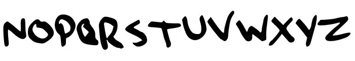 QaO Font UPPERCASE