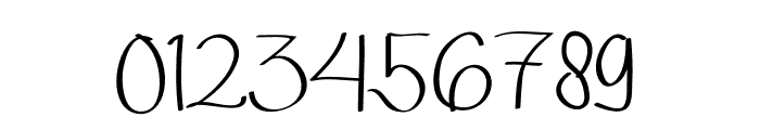 Qalin Handwritting Font OTHER CHARS