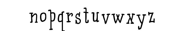 Qarrotface Font LOWERCASE