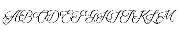 Qaskin Black Personal Use Font UPPERCASE