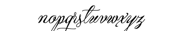 Qaskin Black Personal Use Font LOWERCASE