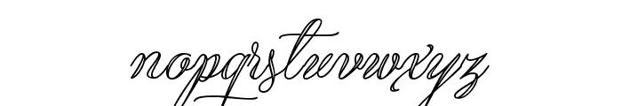 Qaskin White Personal Use Font LOWERCASE