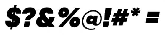 Qanelas Heavy Italic Font OTHER CHARS