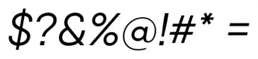 Qanelas Italic Font OTHER CHARS