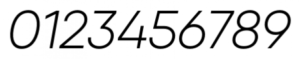 Qanelas Light Italic Font OTHER CHARS