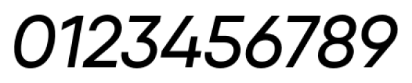 Qanelas Medium Italic Font OTHER CHARS