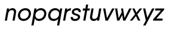 Qanelas Medium Italic Font LOWERCASE
