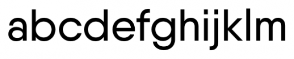 Qanelas Medium Font LOWERCASE