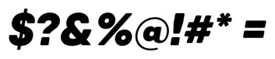 Qanelas Soft Black Italic Font OTHER CHARS