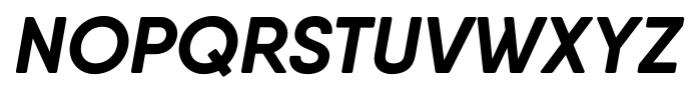 Qanelas Soft Bold Italic Font UPPERCASE