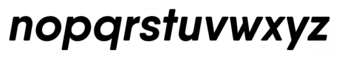 Qanelas Soft Bold Italic Font LOWERCASE