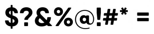 Qanelas Soft Bold Font OTHER CHARS