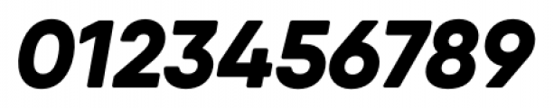 Qanelas Soft Extra Bold Italic Font OTHER CHARS