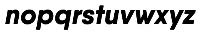 Qanelas Soft Extra Bold Italic Font LOWERCASE