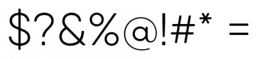Qanelas Soft Light Font OTHER CHARS
