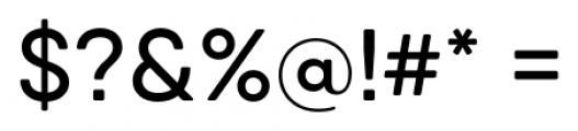 Qanelas Soft Medium Font OTHER CHARS