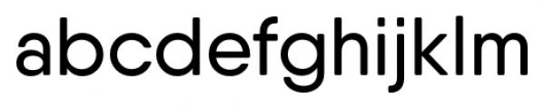 Qanelas Soft Medium Font LOWERCASE