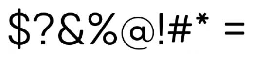 Qanelas Soft Regular Font OTHER CHARS