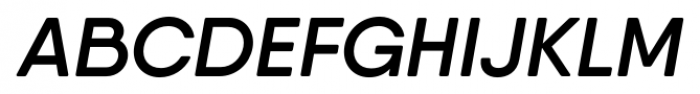 Qanelas Soft Semi Bold Italic Font UPPERCASE