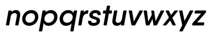 Qanelas Soft Semi Bold Italic Font LOWERCASE