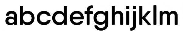 Qanelas Soft Semi Bold Font LOWERCASE