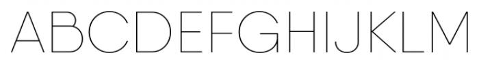 Qanelas Soft Thin Font UPPERCASE