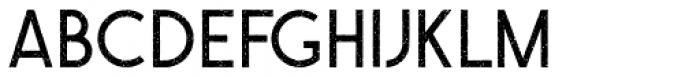 QARVIC Grunge Font UPPERCASE