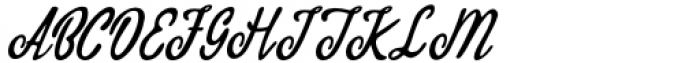 Qadisah Script Regular Font UPPERCASE