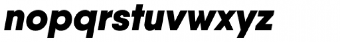 Qanelas Black Italic Font LOWERCASE