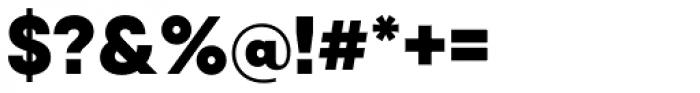 Qanelas Black Font OTHER CHARS