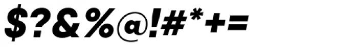 Qanelas Extra Bold Italic Font OTHER CHARS