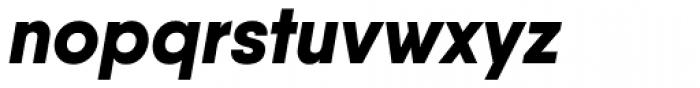 Qanelas Extra Bold Italic Font LOWERCASE