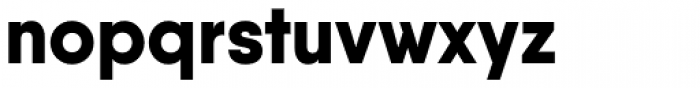 Qanelas Extra Bold Font LOWERCASE