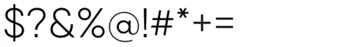 Qanelas Light Font OTHER CHARS
