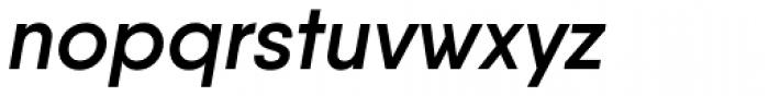 Qanelas Semi Bold Italic Font LOWERCASE