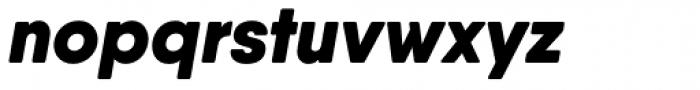 Qanelas Soft Black Italic Font LOWERCASE