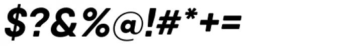 Qanelas Soft Bold Italic Font OTHER CHARS