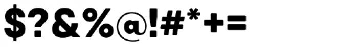 Qanelas Soft Extra Bold Font OTHER CHARS