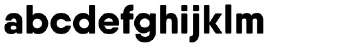 Qanelas Soft Extra Bold Font LOWERCASE
