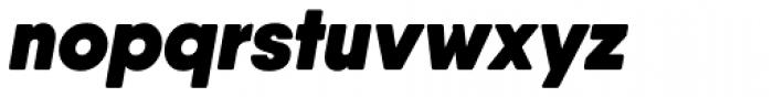 Qanelas Soft Heavy Italic Font LOWERCASE