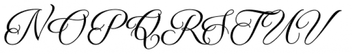 Qaskin Black Font UPPERCASE