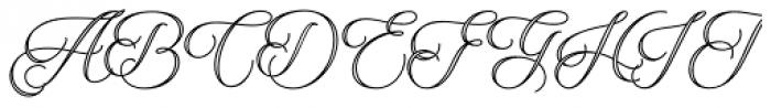 Qaskin White Font UPPERCASE