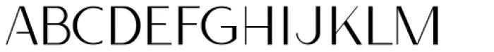 Qatana Light Font UPPERCASE