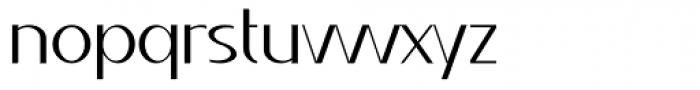 Qatana Light Font LOWERCASE