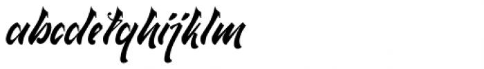 Qaylla Regular Font LOWERCASE