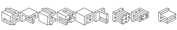 Qbicle 2 BRK Font OTHER CHARS