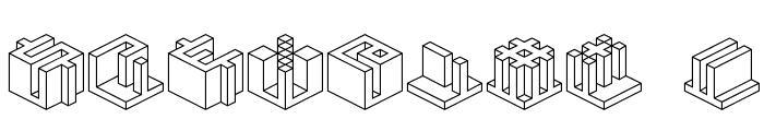 Qbicle 4 BRK Font OTHER CHARS