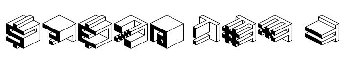 Qbicle1BRKMK Font OTHER CHARS