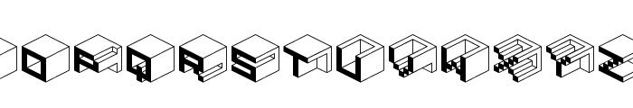 Qbicle1BRKMK Font LOWERCASE
